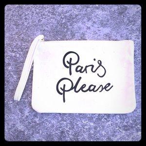 """🌟Lancôme """"Paris Please"""" wristlet/cosmetic pouch"""